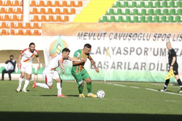 In the 28th week of the Super League, it drew 1-1 with Göztepe on the Alanyaspor field