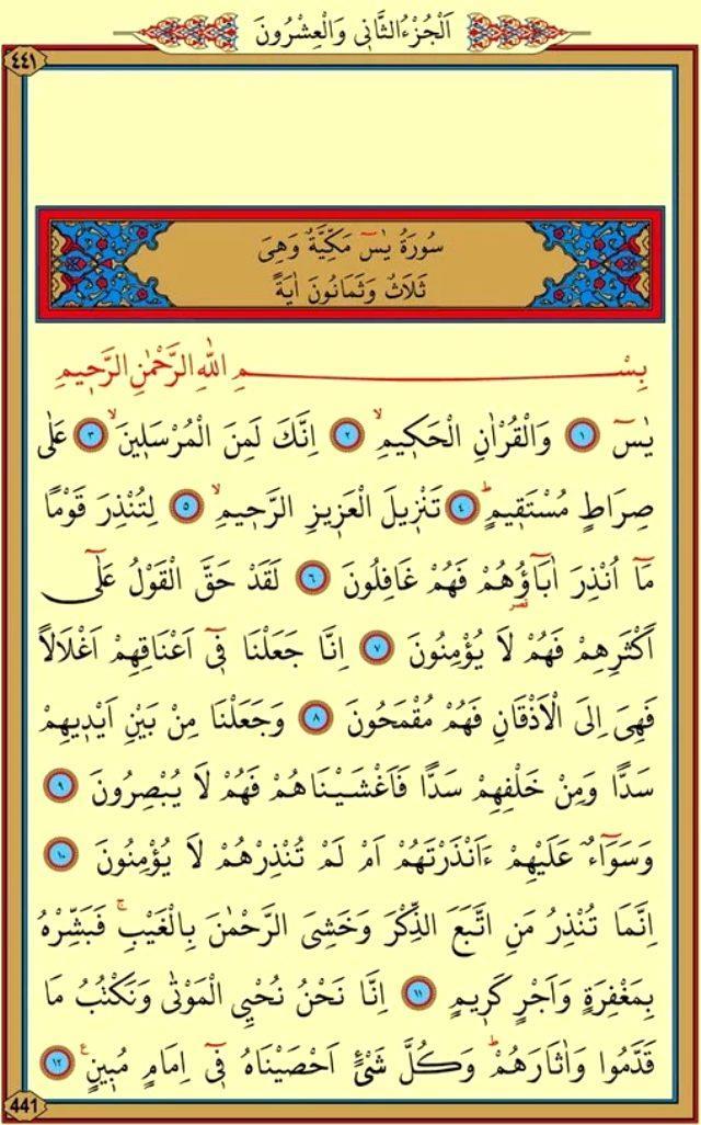 YASİN SURESİ OKU - Yasin Suresi Duası Arapça Oku - Yasin-i Şerif Türkçe Anlamı, Meali Ve Faziletleri (Diyanet Meali & Tefsiri)