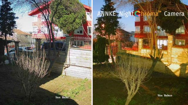 NCA500 security camera review with Annke's Night Chroma technology