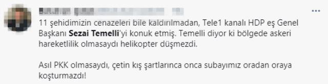 HDP'li Sezai Temelli'den tepki çeken sözler: Askeri hareketlilik iktidar politikası, kaza diyemezler