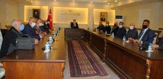 Salih Güngöralp: MHP'den Vali Bilmez'e nezaket ziyareti