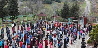 Zeynep Yıldırım: Deprem haftası nedeniyle öğrencilere eğitim verildi