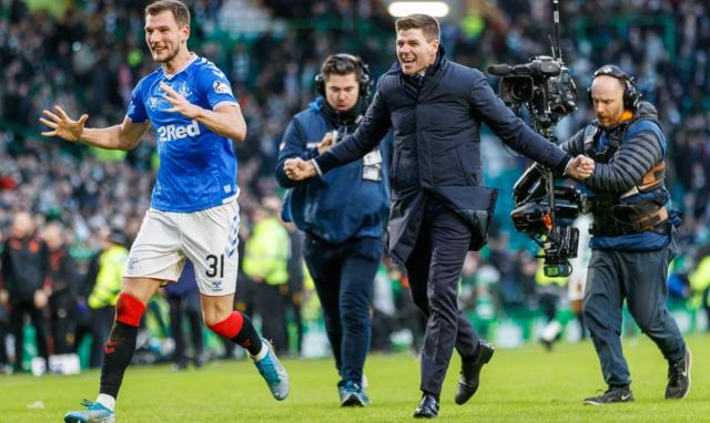 Rangers in Scottish League close to breaking Celtic's 9-year championship embargo
