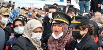 Nazmi Yılmaz: Kahramanmaraşlı şehit astsubay Afşin'de son yolculuğuna uğurlandı