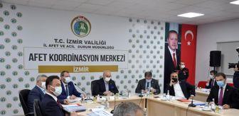 Çevre Ve Şehircilik İl Müdürü: TBMM Deprem Araştırma Komisyonu İzmir'de toplandı