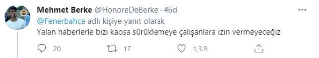 Fenerbahçe, sportif direktör Emre Belözoğlu'nun istifa ettiğine ilişkin iddiaları yalanladı