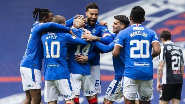 Celtic hegemony in Scotland has come to an end!  Rangers reach championship 10 years later
