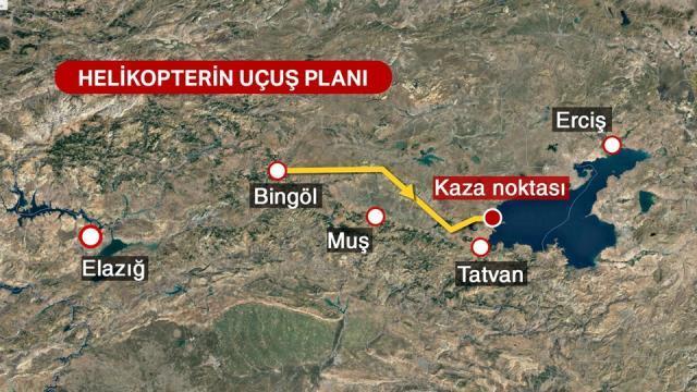Bitlis'te Askeri helikopter neden düştü? Kaç askerimiz şehit oldu? Askeri helikopterin düşme sebebi nedir?