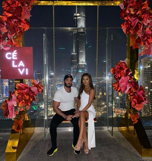 Natalia Zoppa's girlfriend Hass Saleh caught the messages of British national player Jack Grealish