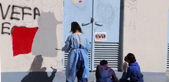 Trafo: Siirt'te trafo binaları renkli motiflerle süsleniyor