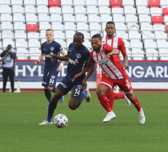 In the 29th week of the Super League, Antalyaspor drew 1-1 with Kasımpaşa on the field