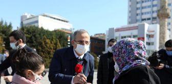 8 Mart: AK Parti İzmir Dünya Kadınlar Gününde 30 ilçede sahadaydı