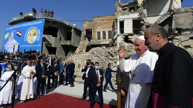 Papa'ya tarihi Irak ziyaretinde büyük şok! Diyanet İşleri Başkanı görüşme teklifini reddetti