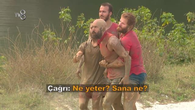 Survivor 2021'in 44 . bölüm fragmanı yayınlandı! Acun Ilıcalı, sunucunun üzerine yürüyen Çağrı'ya resti çekiyor