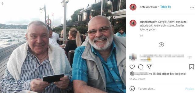 Vefat eden Rasim Öztekin'in 2 ay önce abisini kaybettiği ortaya çıktı