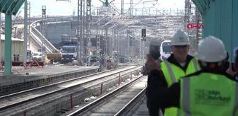 Hızlı Tren: YHT, Sivas'ta ilk kez tren garına giriş yaptı