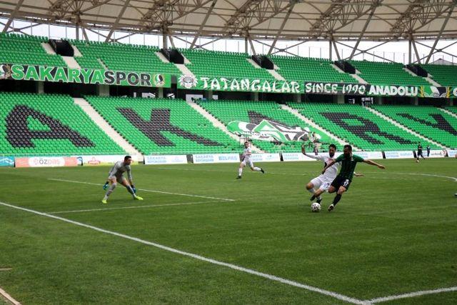 2. Lig Sakaryaspor: 1 Karacabey Belediyespor: 0