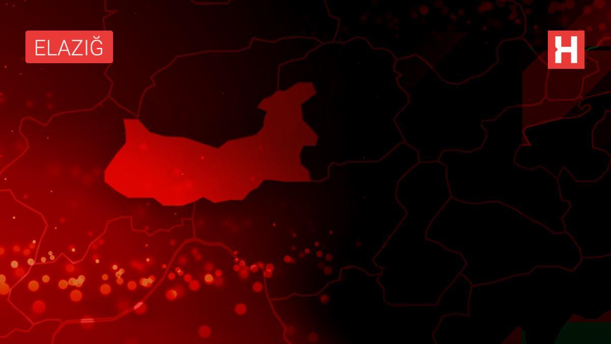 Son dakika haber! Elazığ'da bir otomobilde seyir halindeyken yangın çıktı