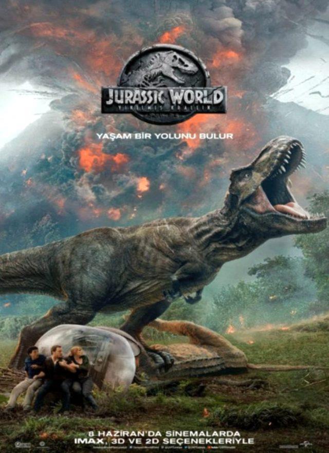 Jurassic World: Yıkılmış Krallık filmi konusu ne? Jurassic World: Yıkılmış Krallık ne zaman, hangi kanalda, saat kaçta başlayacak?