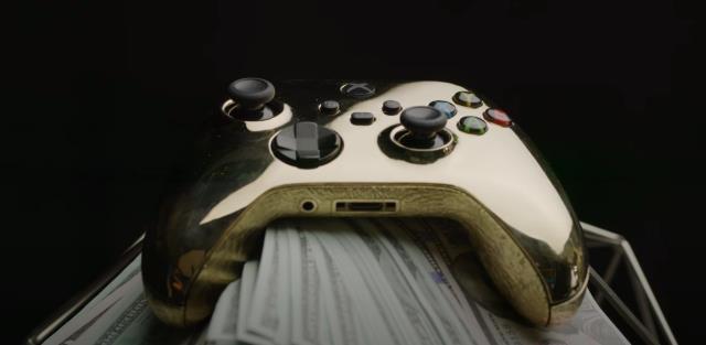 2 buçuk kilogram altın ile Xbox kontrolcüsü üretildi | Kontrolcünün fiyatı 650 bin TL değerinde!
