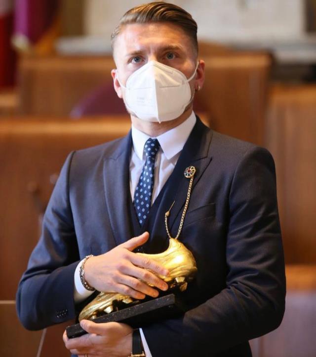 Ciro Immobile, Altın Ayakkabı ödülünün sahibi oldu