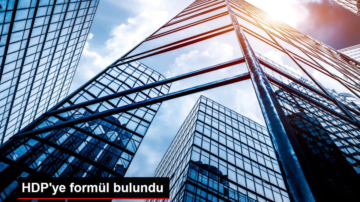 HDP'ye formül bulundu