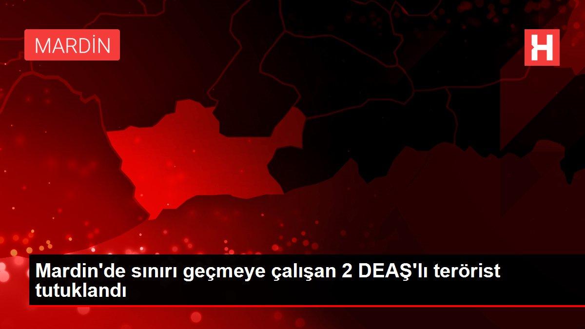 Suriye'den Türkiye'ye girmeye çalışan 2 DEAŞ'lı terörist tutuklandı