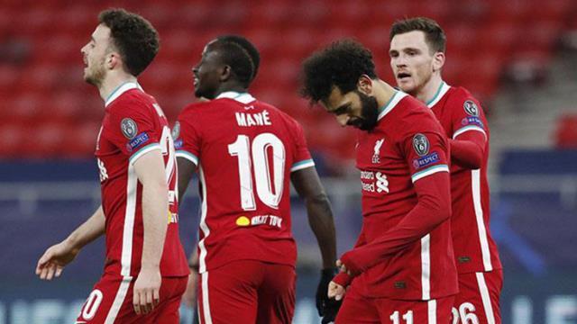 Şampiyonlar Ligi'nde Liverpool, sahasında Leipzig'i 2-0 yendi ve çeyrek finale yükseldi