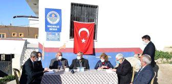 Bozdoğan: Tarsus Belediye Başkanı Haluk Bozdoğan'dan mahalle ziyareti