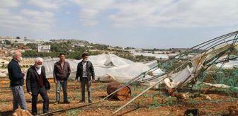 Rasim Şahin: Mersin'de fırtına seraları yıktı, evlerin çatılarını uçurdu