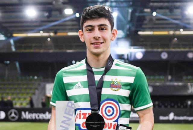 Rapid Wien forması giyen Yusuf Demir için Barcelona harekete geçti