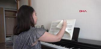 Caner Aydın: Elif Beste, anne karnındaki kardeşine piyano çalıyor