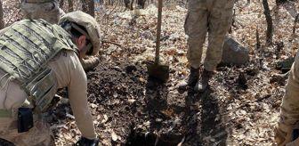 Polis Özel Harekat: Tunceli'de teröristlerin kullandığı 6 sığınak, kullanılamaz hale getirildi