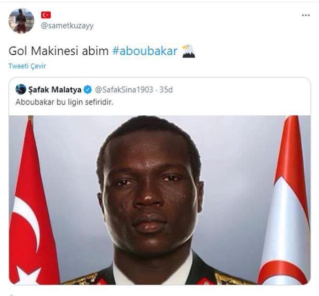 Vincent Aboubakar'ın Başakşehir maçında gösterdiği performans taraftarlardan övgü aldı