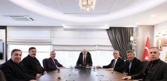 Binali Yıldırım: Başkan Faruk Özlü İzmir'de