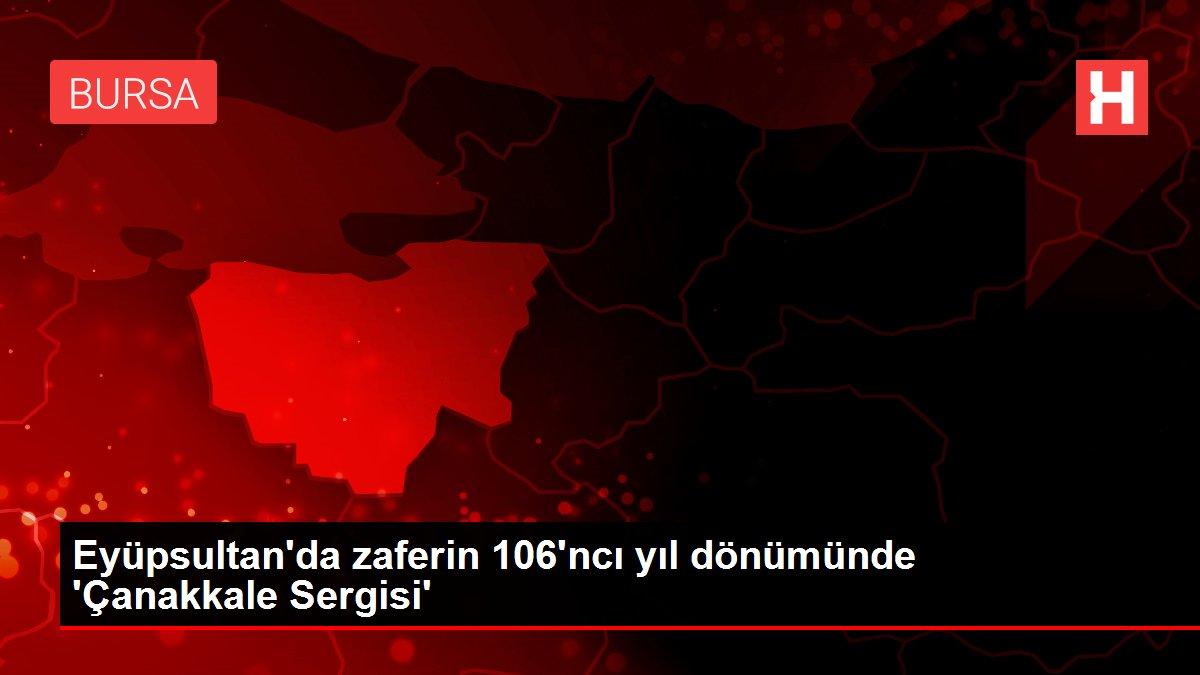 Eyüpsultan'da zaferin 106'ncı yıl dönümünde 'Çanakkale Sergisi'