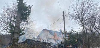 Murat Başoğlu: Son dakika haberi: Kazan dairesinde çıkan yangın önce samanlığa sona eve sıçradı