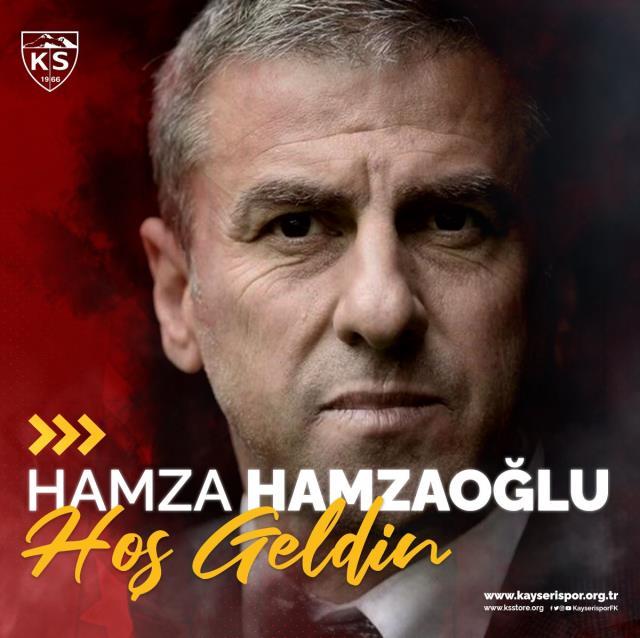Kayserispor, teknik direktörlüğe Hamza Hamzaoğlu'nu getirdi