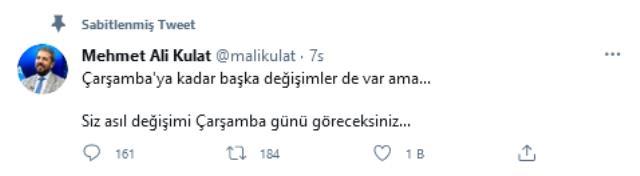 Türkiye Naci Ağbal'ın görevden alınmasını konuşurken ünlü anketçiden bomba iddia: Asıl değişimi Çarşamba günü göreceksiniz