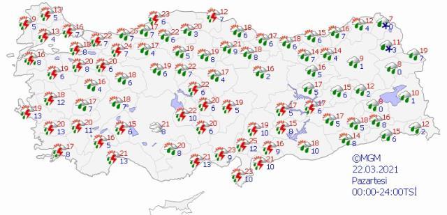 Meteoroloji'nin 5 günlük hava tahmin raporuna yansıdı: İstanbul'a bahar değil yeniden kar geliyor