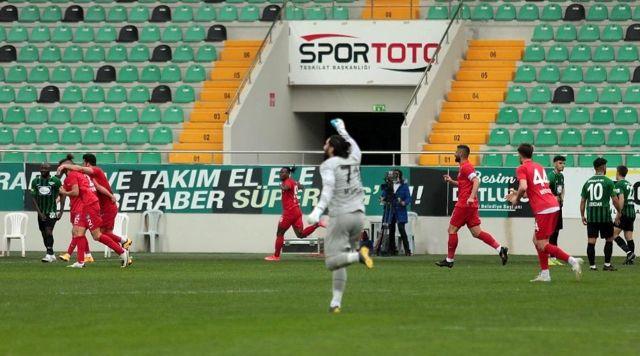 TFF 1. Lig Akhisarpor: 1 Ankara Keçiörengücü: 2