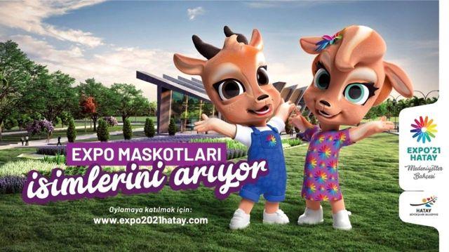 CHP'li büyükşehir belediye başkanları EXPO Hatay maskotları için oy kullandı