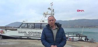 Ünal Çetin: ÇANAKKALE Gökçeada'da kalp krizi geçiren hasta, Sahil Güvenlik botuyla sevk edildi