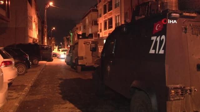 İstanbul'da DAEŞ'e yönelik eş zamanlı operasyon