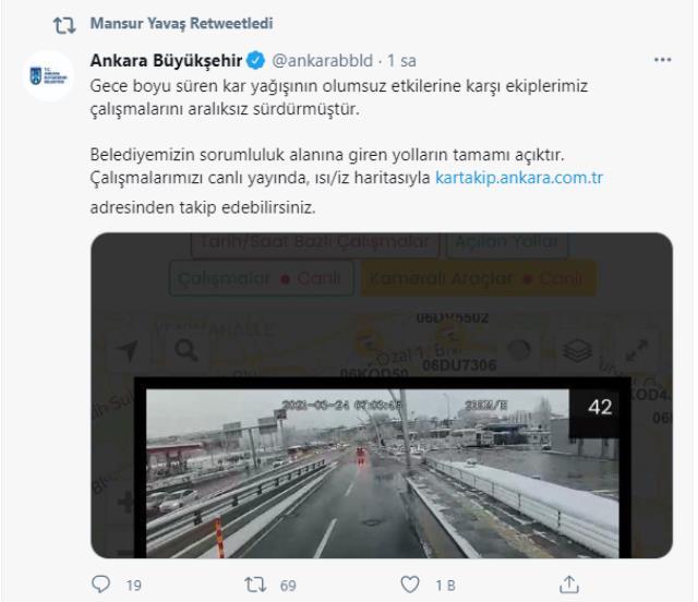Son Dakika! Yola çıkacaklar dikkat! Peş peşe gelen uyarıların ardından Ankara ve İstanbul'da beklenen kar yağışı başladı