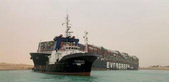 Süveyş Kanalı: Süveyş Kanalı, karaya oturan 400 metrelik gemi nedeniyle trafiğe kapandı