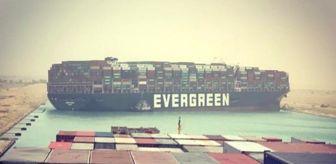 Süveyş Kanalı: Süveyş Kanalı'nda dev konteyner gemisi karaya oturdu