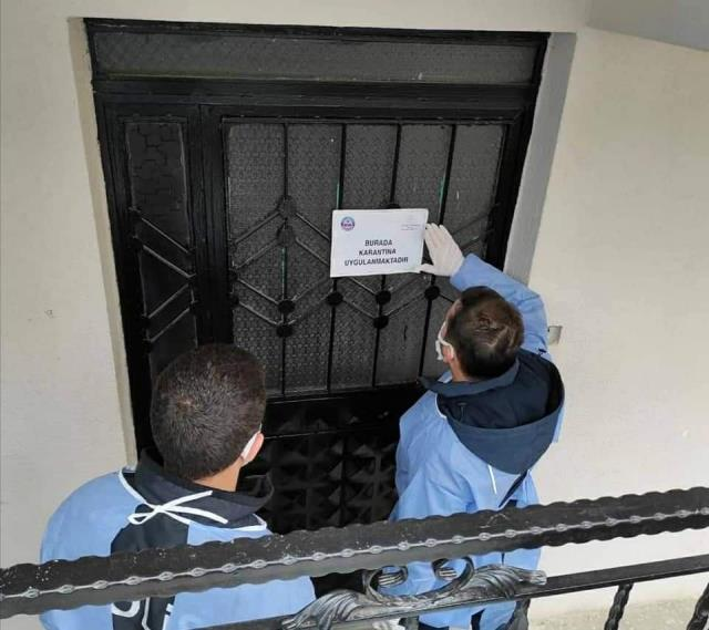 237 kişinin yaşadığı 11 bina karantinada