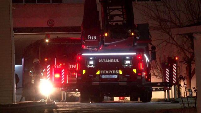 Çekmeköy'de gıda üretim tesisinde çıkan fabrika yangını kontrol altına alındı