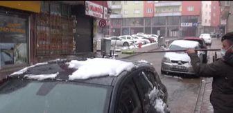 Göksun: KAHRAMANMARAŞ - Afşin'de kar yağışı